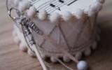 Ксения 68 - Винтажные барабанчики из бобинок от бумажных полотенец. Мастер класс