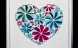 Ксения 68 - Бумажное сердце в рамке. МК