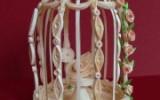 Ксения 68 - Клетка с птичкой.Квиллинг.МК
