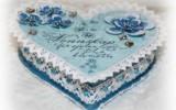 Ксения 68 - Сердечная шкатулка. Скрапбукинг. МК