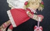 Ксения 68 - Текстильный ангел Девочка с сердечком