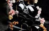 Ксения 68 - Очки с розочками из полимерной глины