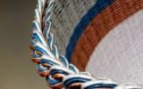 Ксения 68 - Красивое закрытие верха корзинки. МК