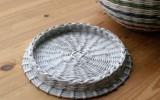 Ксения 68 - Плетение крышки для круглой корзинки.МК