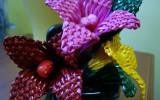 Ксения 68 - Цветы из газетной лозы