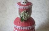 Ксения 68 - Дамы в шляпах. Плетение из бумаги