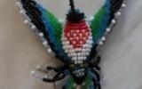 Ксения 68 - Колибри. Плетение из бисера. МК