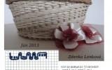 Ксения 68 - Оригинальное плетение из газетной лозы. Схемы