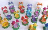 Ксения 68 - Корзиночки для пасхальных яиц из фоамерана