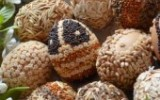 Ксения 68 - Яйца, украшенные крупой.МК