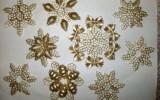 Ксения 68 - Новогодние украшения из макаронных изделий