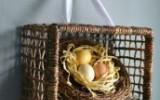 Ксения 68 - Пасхальный венок в виде корзинки с гнездом.Идея