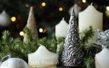 Ксения 68 - Рельефная ёлка из картона, мешковины и фольги. МК