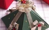 Ксения 68 - Новогодняя подарочная упаковка в виде ёлки. МК