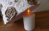Ксения 68 - Светящаяся ёлочка из бумаги.МК