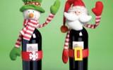 Ксения 68 - Украшение подарочной бутылки к Новому году. Идеи