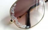 Ксения 68 - Украшаем солнечные очки наклейками для ногтей