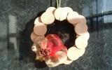 Ксения 68 - Новогодний венок из спилов дерева