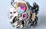 Ксения 68 - Креативные стимпанк украшения из часовых механизмов