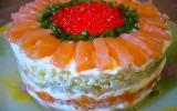 Ксения 68 - Салат с семгой