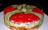 """Ксения 68 - Слоеный салат """"Подарок"""""""