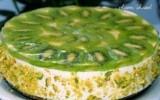 Ксения 68 - Легкий творожный торт с киви, который не нужно выпекать в духовке