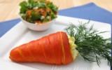 Ксения 68 - Морковь из слоеного теста с салатом