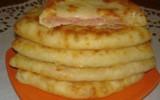 Ксения 68 - Сырные лепешки с начинкой за 15 минут