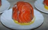 Ксения 68 - Закуска из семги с лимоном и сыром филадельфия