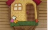 Ксения 68 - Уютный домик для хранения пакетов. Выкройка