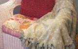 Ксения 68 - Теплый плед своими руками который не нужно шить