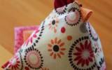 Ксения 68 - Текстильная курочка