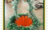 Ксения 68 - Корзиночка к Пасхе из... морковок. Фото мастер класс