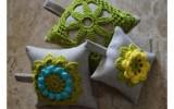 Ксения 68 - Игольницы из грубой ткани с красивым вязанием. Схемы и МК