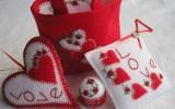 Ксения 68 - Красивое сердце из фетра. МК