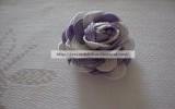 Ксения 68 - Розочка из волнистой тесьмы. МК
