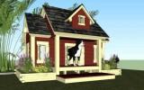 Ксения 68 - Шикарные будки для собаки своими руками