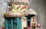 Ксения 68 - Мини домики из скорлупы от грецких орехов. Идеи