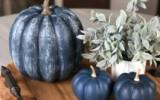 Ксения 68 - Синие тыквы в интерьере
