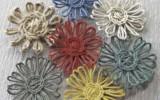 Ксения 68 - Цветы из джутового шпагата