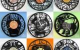Ксения 68 - Часы из виниловых пластинок. Идеи