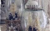 Ксения 68 - Винтажный новогодний шар из банки. Мастер класс