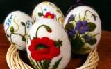 Ксения 68 - Яйца к Пасхе из шерсти