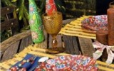 Ксения 68 - Декорирование тарелки тканью