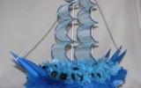 Ксения 68 - Корабль из конфет (свит-дизайн)