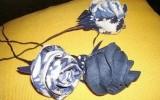Ксения 68 - Роза из джинсовой ткани