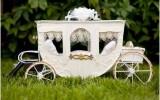 Ксения 68 - Свадебная карета из палочек от мороженого, картона и кабеля МК