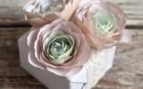 Ксения 68 - Цветы из бумаги. Шаблон и МК