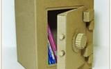 Ксения 68 -   Настоящий сейф из картона – хранилище для самого ценного