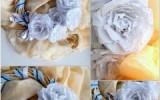 Ксения 68 - Роза из упаковочной бумаги